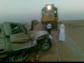 العناية الإلهية تنقذ ( 300 ) راكباً في حادث إصطدام قطار ركاب الأحساء – الرياض بسيارة عالقة على السكة دون إصابات .