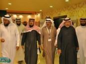 اللواء محمد القحطاني واللواء غازي العتيبي يزوران فعاليات المنتدى الأسري وبرنامج أرامكو الثقافي