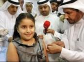 """وزير الصحة يدشن حملة التطعيم ضد إنفلونزا الخنازير بتطعيم ابنته """" هناء """""""