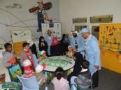 السباكة والكهرباء الآمنة  تستهوي أطفال الأحساء في مهرجان أرامكو الثقافي .