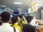 الجماهير والأعلاميين يستقبلون الأتحاد وصيف اسيا بالورود بالمطار .