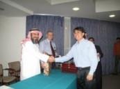 المكتب التعاوني للدعوة والإرشاد وتوعية الجالياتيقيم حفل تكريم لعدد 23 مسلما جديدا بمستشفى الأحساء .