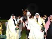وزير التربية والتعليم يتوٌج الفائزين بكأس جمعية الكشافة العربية السعودية للفروسية  .
