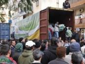 الحملة السعودية لنصرة الأشقاء في سوريا توزع مساعدات للنازحين السوريين في طرابلس