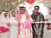 مدير صحة الاحساء بالانابة يفتتح المعرض التوعوي لأنفلونزا الخنازير .
