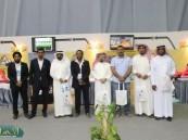 وفد هجراوي يزور معرض أسبوع المرور الخليجي الموحد  .