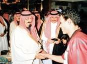 هداف الرياض والمنتخب السعودي على السرير الابيض