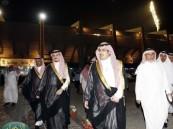 الأمير نواف بن فيصل يتفقد مدينة الأمير عبدالعزيز بن مساعد ويزور يزيد الراجحي