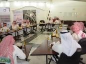 زيارة وفد تربوي من منطقة الرياض لمقر معهد التنمية الأسرية