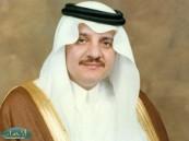 سمو أمير المنطقة الشرقية يجري اتصال برئيس مجلس إدارة النموذجي