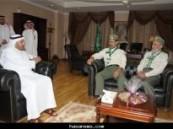 وزير الصحة يلتقي بالكشافة ويشيد بجهودها في الحج