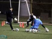 استعدادات هجر تتواصل لمواجهة النصر في زين وإصابة الجمعان تعيقه عن إكمال التدريبات