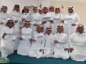 """ثانوية """"الملك خالد """" تحتفي بطالبها المتفوقين"""
