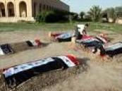 عراقيون يزورون قبر صدام في العيد .