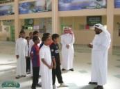 مدرسة إبن زيدون المتوسطة تستضيف طلاب مدرسة النجاح