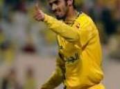 لاعب نادي النصر سعد الحارثي يودع العزوبية .