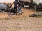حادث على طريق بقيق – الأحساء يسفر عن إنقلابين