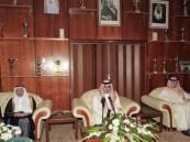 الأمير نواف يقوم بزيارة لنادي الوحده بمكة المكرمه
