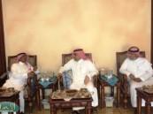 الأمير عبدالعزيز بن سعد يكرم المشاركين في بطولة جمال الخيل العربية