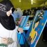 مريم بوخمسين… فتاة ثائرة بفرشاة جاءت لتنصف المرأة