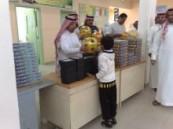 مدرسة زيد بن ثابت الأبتدائية تحتفل بوصول سلطان الخير بالعرضة النجدية