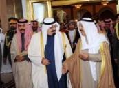 خادم الحرمين الشريفين يغادر الكويت بعد ترأسه  وفد المملكة إلى مؤتمر قمة مجلس التعاون لدول الخليج العربية .