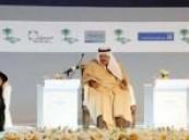 وسط حضور كبير : الأمير نايف بن عبدالعزيز يفتتح منتدى الرياض الاقتصادي  .