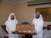 المجلس الإشرافي لمركز بر الصالحية يكرم فهد العجيل .