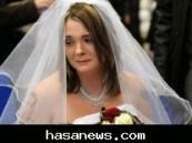 عروس فرنسية تتزوج من حبيبها المتوفي