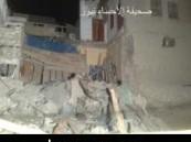إصابة 3 من العمالة الأسيوية في إنهيار جدار غرفة منزل قديم بحي الكوت بالهفوف نتيجة تجهيز أرض مجاورة للبناء ( مرفق صور حصرية )