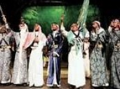 الجزائريون يبهرون بعروض فرقة الفنون الشعبية السعودية .