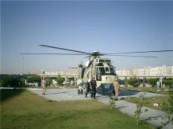 نقل مواطن قطري بطائرة أخلاء طبي .