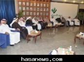 صالح العفالق رئيس مجلس إدارة غرفة الأحساء في المؤتمر الصحفي : آلية جديدة لتشكيل اللجان النوعية و استحداث أخرى خلال الدورة الحالية .