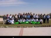 أرامكو السعودية تكرم محرر ( الأحساء نيوز ) في حفل تكريم المشاركين بمعرض حملة السلامة بالعضيلية ( مرفق صور حصرية ) .