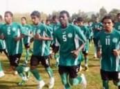 الأخضر الشاب يدخل معسكره الإعدادي الثاني في الرياض .