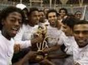 الشباب بطلا لكأس الأمير فيصل بن فهد للمره الثانية على التوالي والرابع في تاريخه .