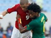 مصر تواصل ترويض الأسود الكاميرونية .