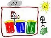 الزرعة يفتتح معرض رسوم الأطفال بمدرسة عمار ويكرم المتميزين