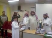 """مدرسة الأمير بدر بن عبدالعزيز بالحرس الوطني تقيم """" اليوم المفتوح """""""