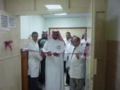 تدشين قسم العمليات بمستشفى العيون .