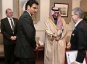 الأمير بدر يستقبل قنصل الولايات المتحدة بالمنطقة الشرقية والقنصل زار بلدية الاحساء