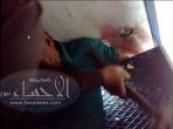 الدفاع المدني بالأحساء يخلص  يد أسيوي من ( مصعد كهربائي ) في أحد المجمعات التجارية .