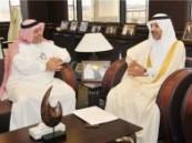 خلال استقبال مدير الجامعه له … سفير المملكة في البحرين يشيد بجامعة الأمير محمد بن فهد