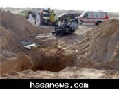 الدفاع المدني بالأحساء ينتشل جثة مواطن توفى بعد سقوط سيارته في حفرة مياه عميقة على طريق العقير .