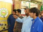 مشاركة فاعلة لتقنية الأحساء في اليوم العالمي للدفاع المدني .
