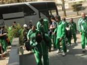بعثة الاهلي السعودي تصل الرياض وتتجه للدوحة اليوم .