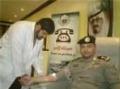 لصالح جنود الوطن على الحدود الجنوبية : قيادة دوريات أمن الأحساء تنفذ حملة للتبرع بالدم .