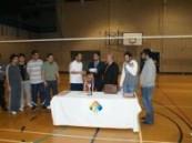 بتنظيم من نادي الطلاب السعوديين ببريطانيا بطولة كرة الطائرة لأندية الطلاب المبتعثين .