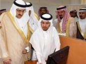 الأمير منصور بن متعب يطلع على أخبار لجنة التصويت