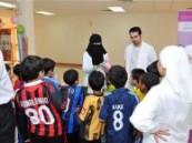 جامعي جامعة الدمام يطلق حملته الثانيه للتوعية بصحة الاسنان .